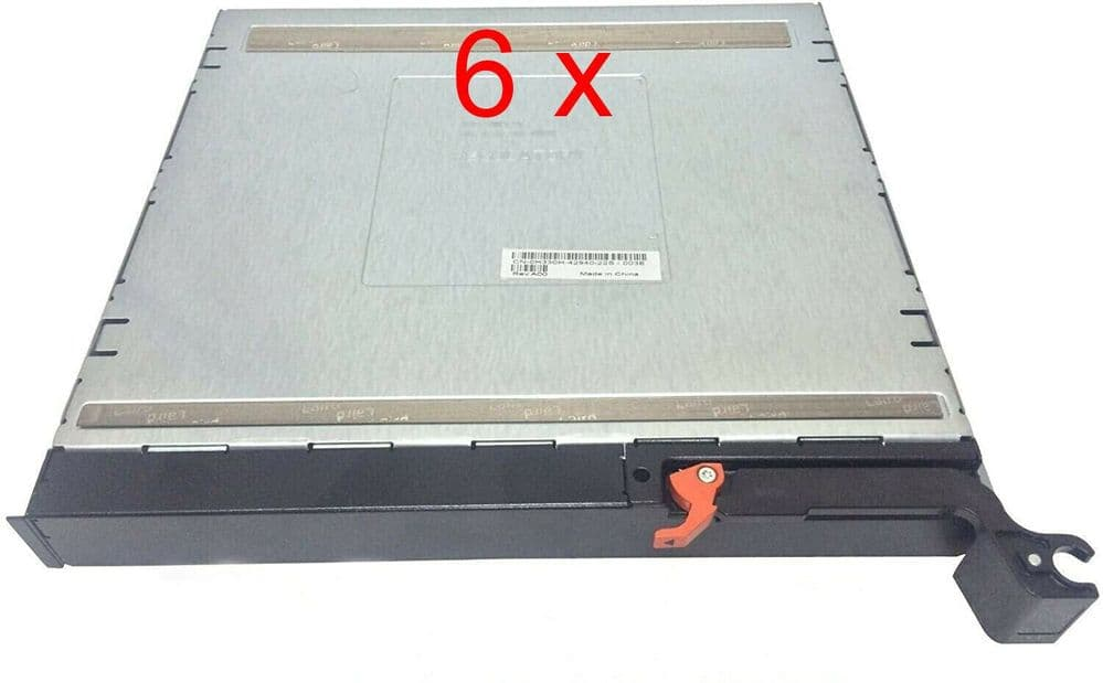 6 x New Dell H330H Blank Module Filler For PowerEdge M1000e Blade Chassis